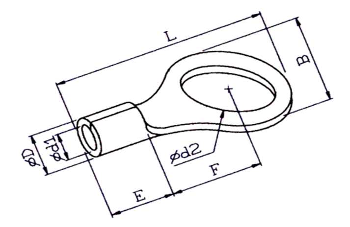 RING NON-INSULATED TERMINAL